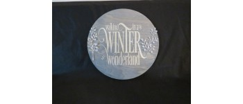 Winter Wonderland Wood Sign