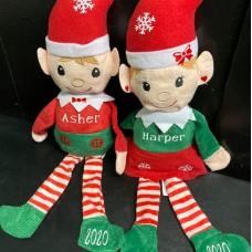 Girl and Boy Plush Elves
