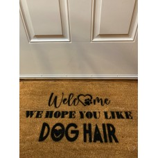 Customizable Door Mat